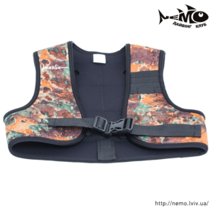 marlin vest brown