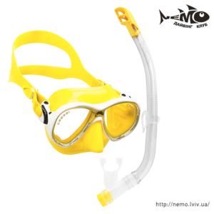 cressi marea vip jr yellow