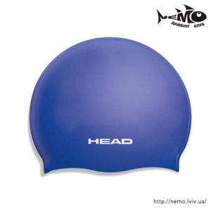 head silicone flat JR blue