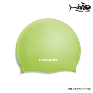 head silicone flat JR lime