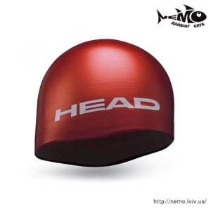 head silicone moulted red