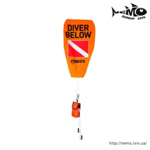 mares marker buoy safety stop